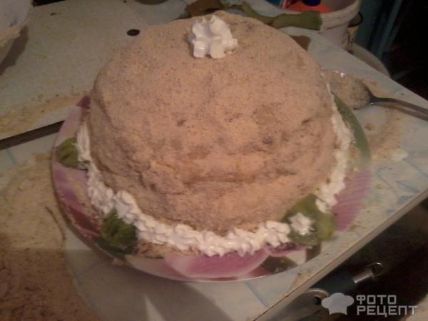Торт черепаха с кефиром рецепт