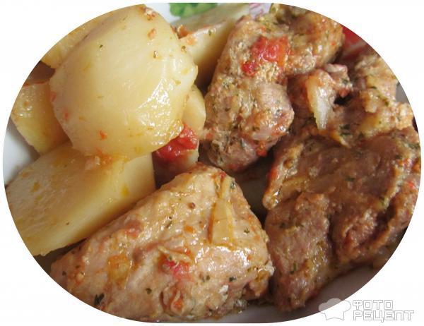 Свинина в мультиварке с картошкой рецепт с фото