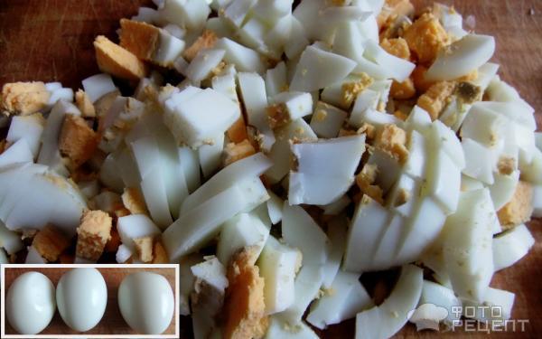 Рецепт салата Лапти фото