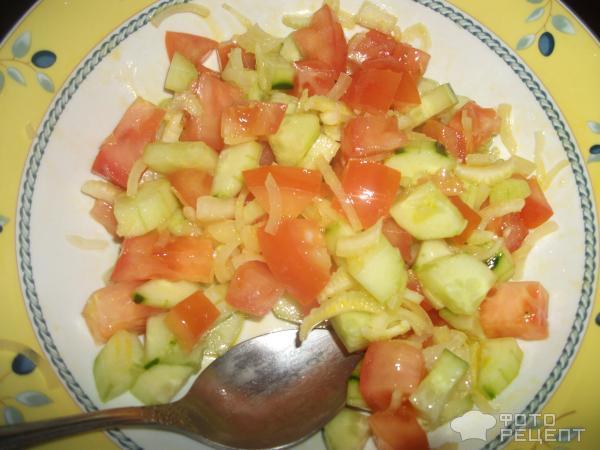 Салат легкий на скорую руку рецепты с из простых продуктов