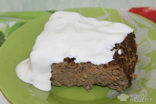 Рецепт Суфле из печени фото