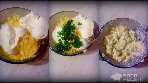 Рецепт: Чесночная картошка - в духовке