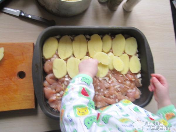 Грудки с картошкой в духовке