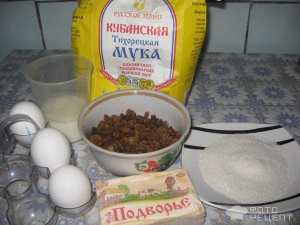Рецепт Пасхальный кулич фото
