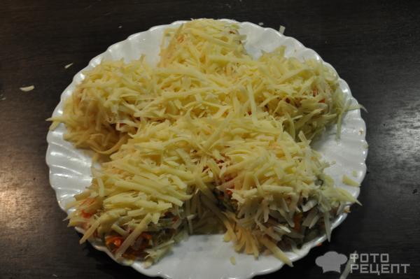 салат Большая ромашка