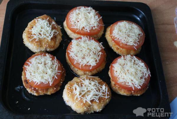 котлеты из индейки с сыром в духовке