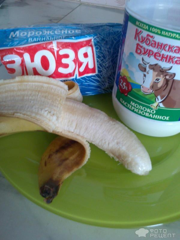 """Коктейль """"Банановый рай"""" – кулинарный рецепт"""