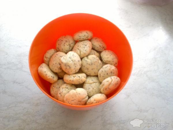 Рецепт Лимонное печенье с маком фото