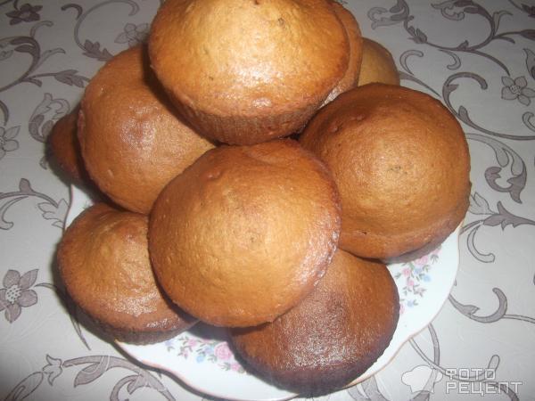 Рецепт Кофейные кексы фото