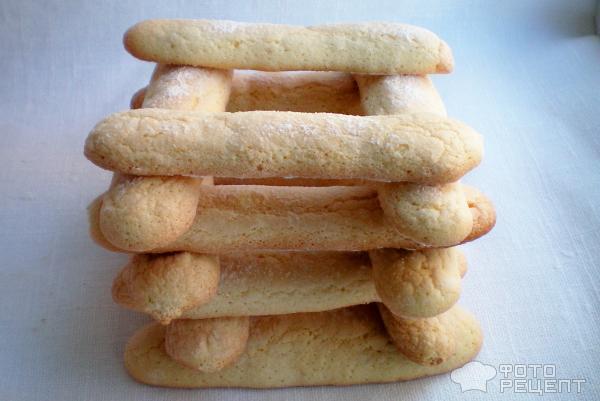 Рецепт печенья савоярди фото домашних условиях