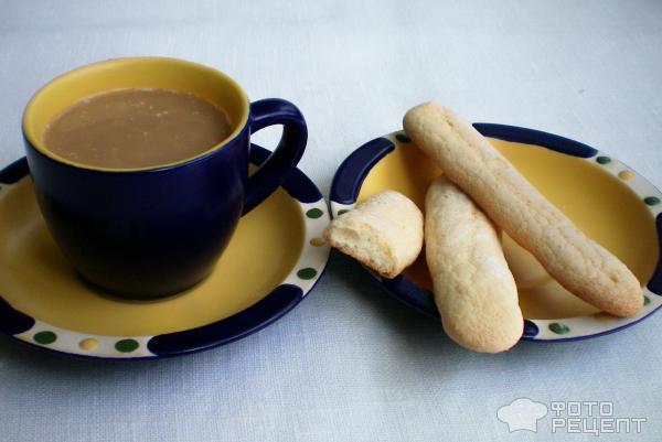 Рецепт печенья Савоярди фото