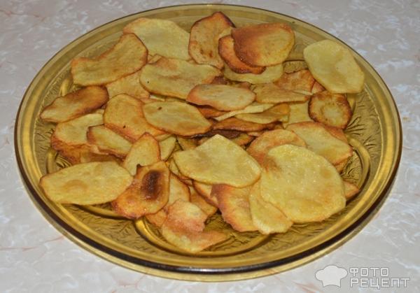 Как сделать домашний чипсы рецепт с фото