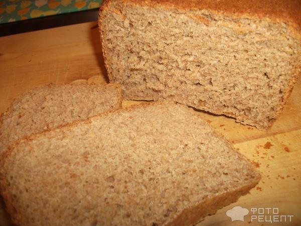 Хлеб пшеничный с ржаными отрубями для хлебопечки