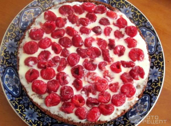 Рецепт торта графские развалины с вишней с фото