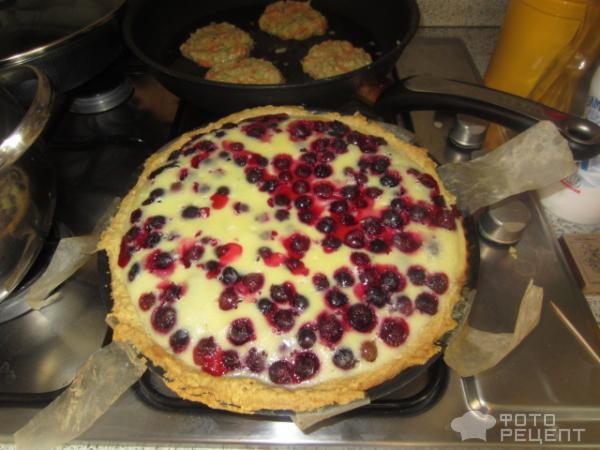 пирог с черной смородиной рецепты из песочного теста