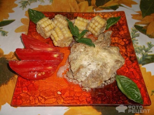Рецепт отбивных в сметанном соусе
