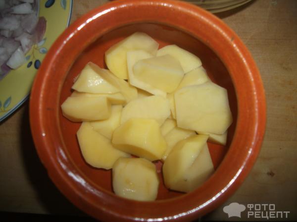 Индейка с картофелем в горшочке для самых маленьких