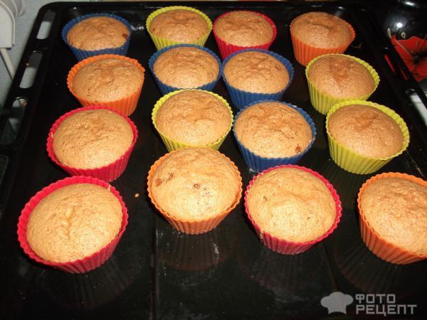 Рецепт Кекс с клубничным джемом фото