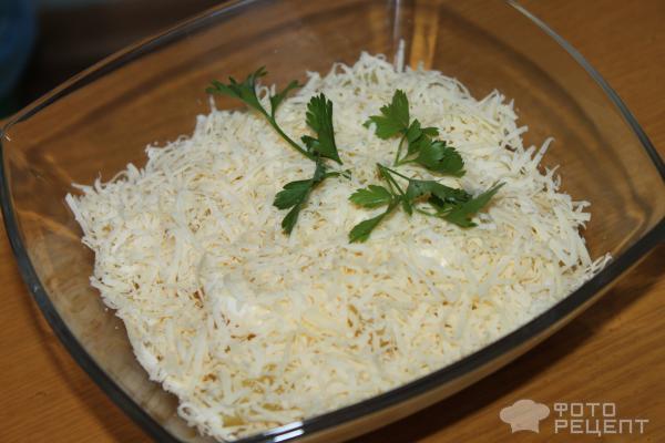 Салат нежность ананасами рецепт с фото