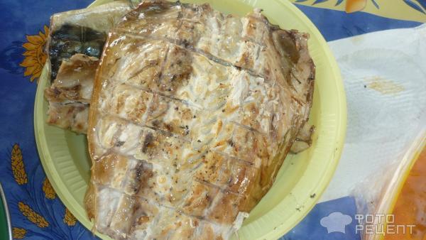 Барбекю из скумбрии рецепт