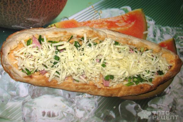 Лаваш с сыром и овощами в духовке рецепт
