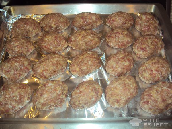 Биточки из говядины рецепт в духовке рецепт 73