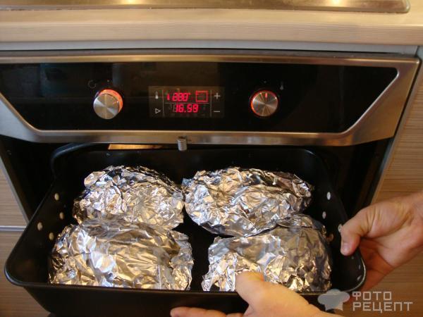Форель запеченная с картофелем в духовке в фольге рецепт