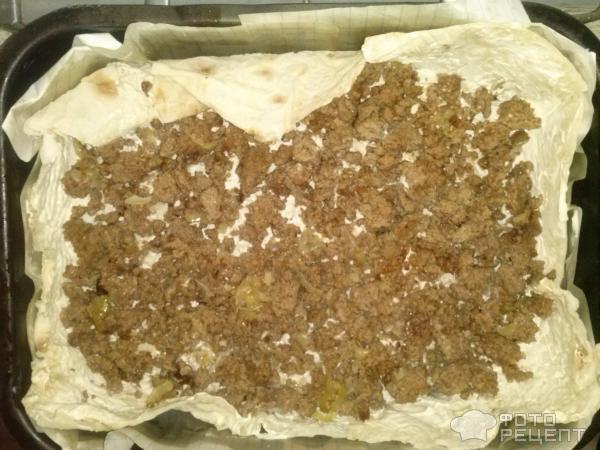 Лазанья лаваш духовка фото рецепт вкусно
