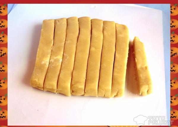 Песочное печенье Ведьмины пальцы фото