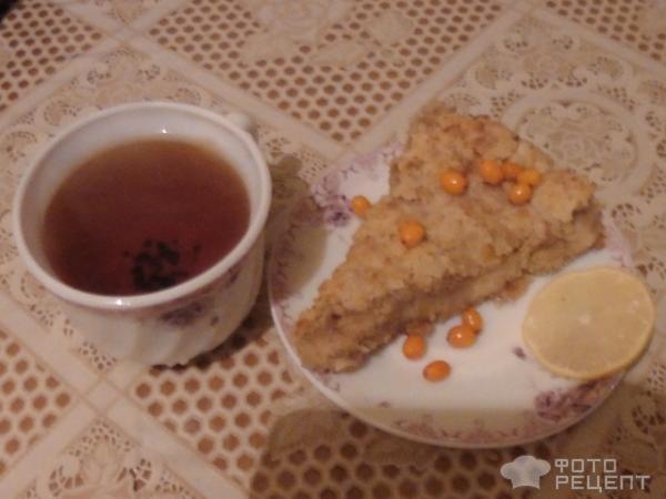 Пирог насыпной фото