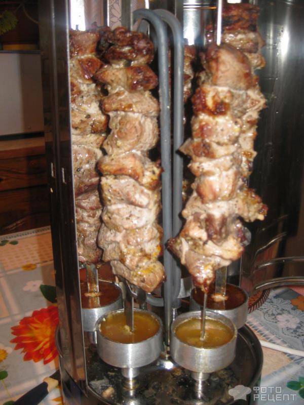 Сочный шашлык из свинины фото