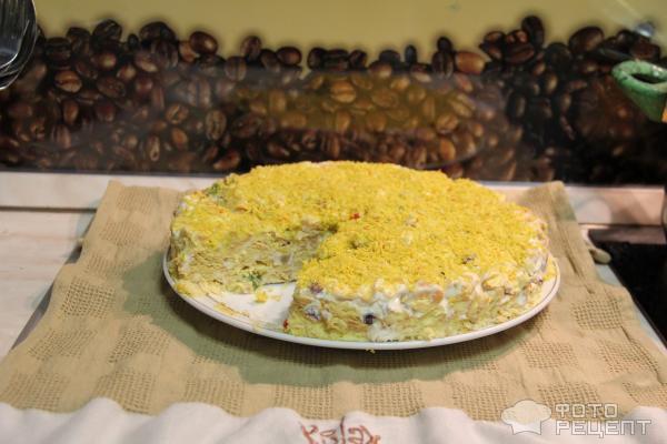 Рыбки крекер торт