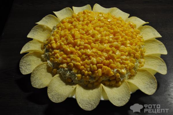 Рецепт салатов простых и вкусных с подсолнух