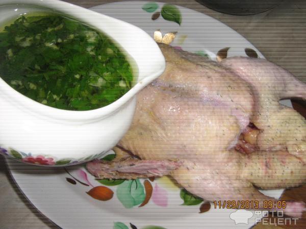 Утка в рукаве с капустой рецепт пошагово