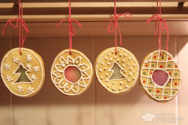 Медовое печенье Новогоднее фото