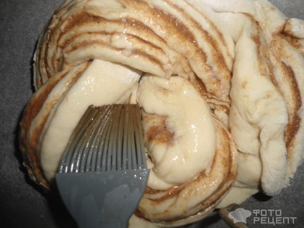 плюшки с корицей рецепт с фото пошагово