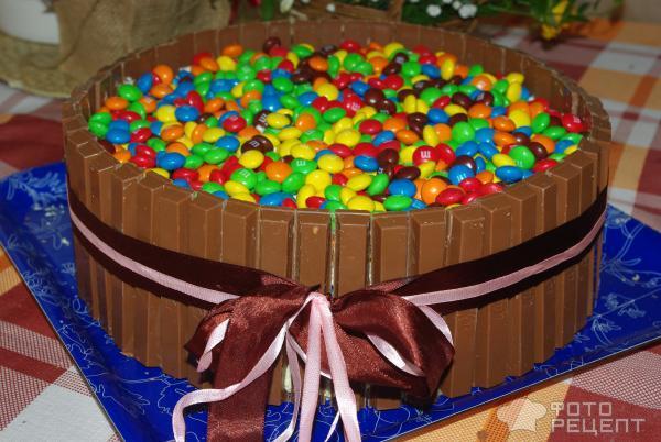 Торт с ммдемс своими руками пошагово 26