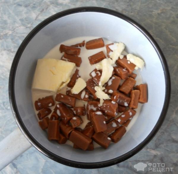 Рецепт колбаса из ирисок с палочками