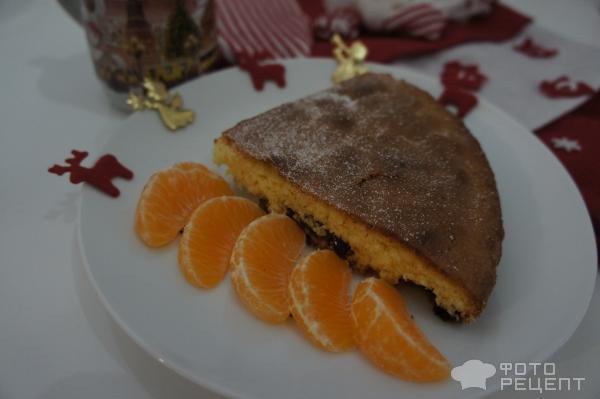 Пирог Рождество фото