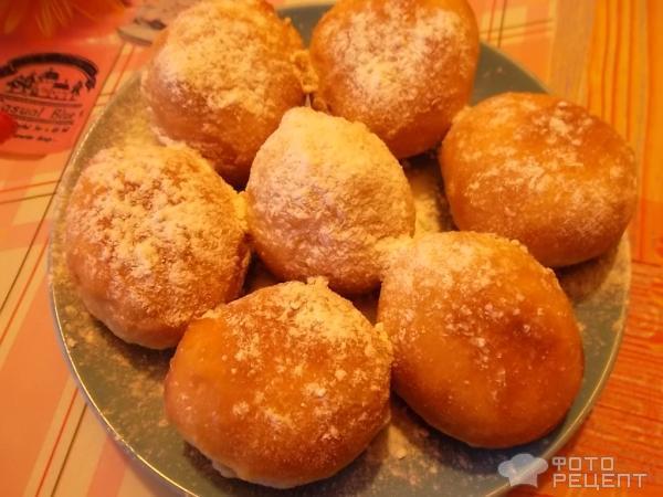 Вкусные пончики на дрожжах рецепт с пошагово