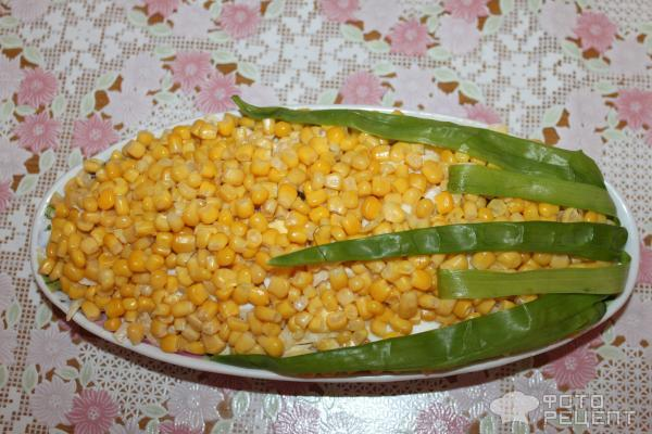 Рецепты салатов фото кукуруза
