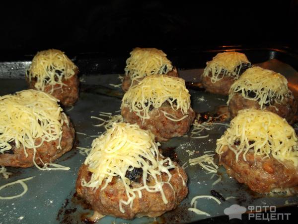 Мясные корзиночки с грибной начинкой фото
