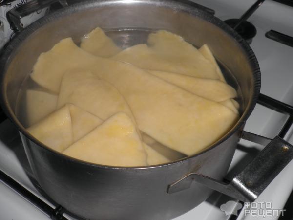 Лазанья с приготовлением теста рецепт