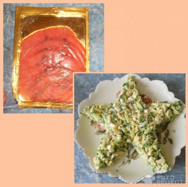 """Салат """"Морская звезда"""" – кулинарный рецепт"""