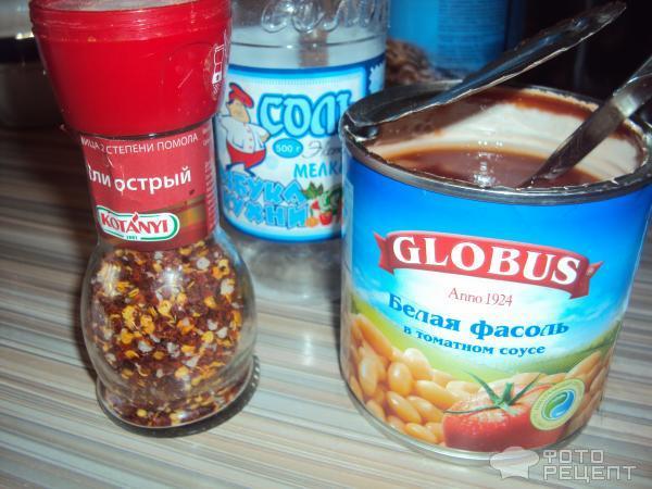 Консервированная фасоль с тушенкой рецепт