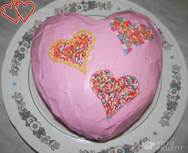 Рецепты тортов ко дню влюбленных с фото