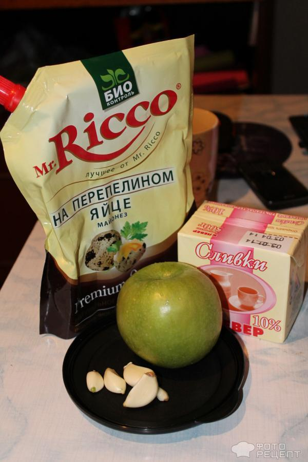 рецепт сливочно-майонезный соус