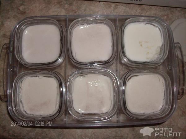 Йогурт из молока на основе закваски Наринэ фото