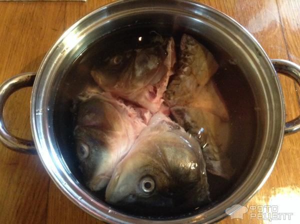 Как сварить рыбьи головы