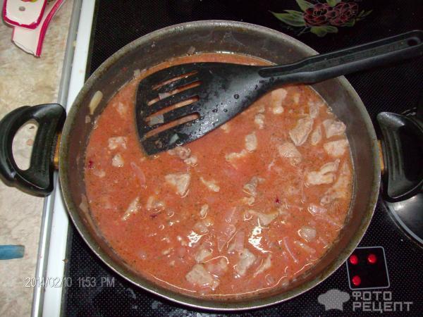 Как сделать подливу с мяса к макаронам